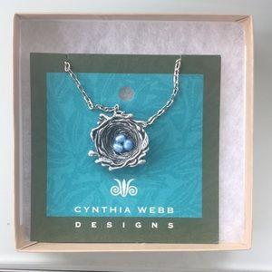 Cynthia Webb Birdsnest Necklace